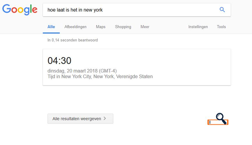 Google geen zoekresultatenresultaten - blogheader en afbeelding SEO Portaal